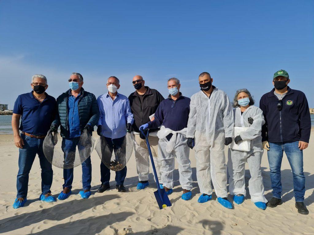ראשי הרשויות בחוף הרצליה