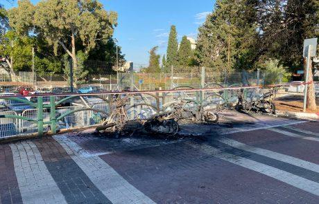 הוצתו קטנועים של עיריית הוד השרון