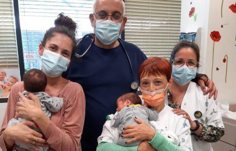 הצלחה למבצע חיסוני RSV לפגים במחוז שרון שומרון