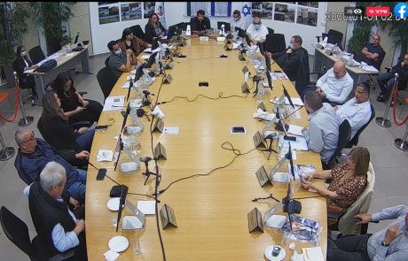 ישיבת מועצת הוד השרון